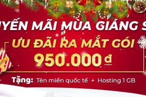 TRỜI ƠI, TIN ĐƯỢC KHÔNG, THIẾT KẾ WEBSITE CHỈ 950K