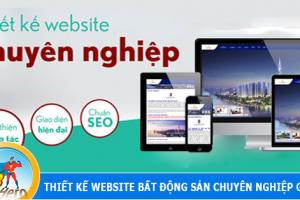 Dịch vụ thiết kế website nhà đất uy tín số 1